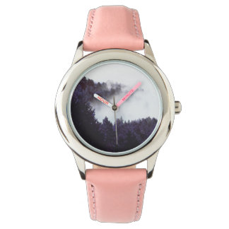 Mystery Fog Stainless Steel Pink Watch