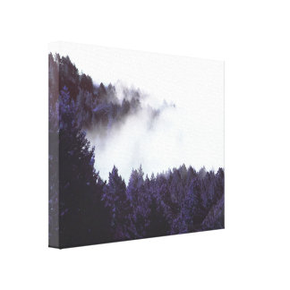 Mystery Fog wrapped canvas 20x16