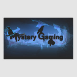 Mystery Gaming stickers