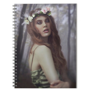Mystery Girl Notebook