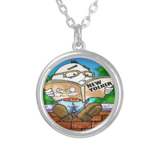 Mystery Of Humpty Dumpty Rick London Gifts Silver Plated Necklace