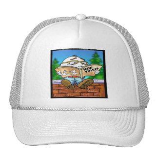 Mystery Of Humpty Dumpty Rick London Gifts Trucker Hat
