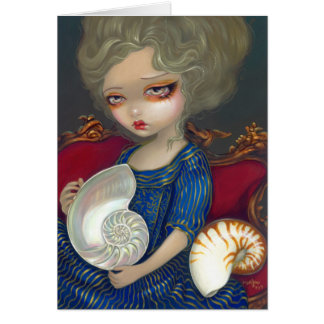 """""""Mystery of the Nautilus"""" Greeting Card"""