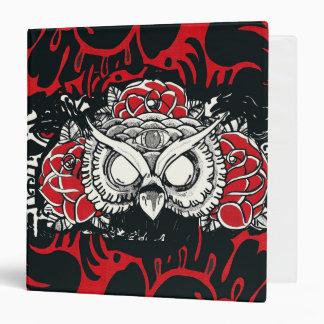 Mystery Owl Binder