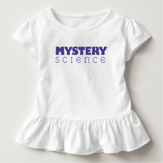 Mystery Science Ruffled Toddler Shirt