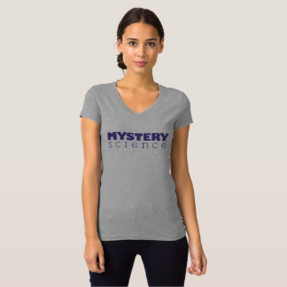 Mystery Science Women's V-Neck T-Shirt (Slim Fit)