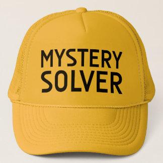 MYSTERY SOLVER fun slogan hat