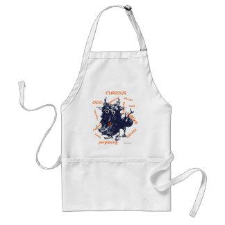 mystery standard apron