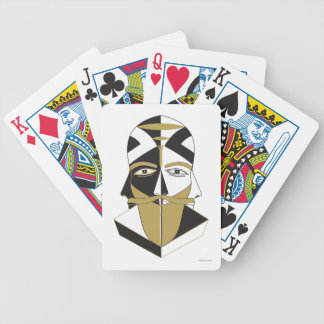 Mystic 5 bicycle playing cards