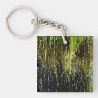 Mystic abstract pattern keychain
