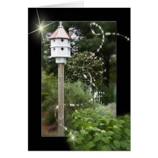 Mystic Bird House Greeting Card