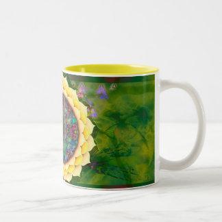 Mystic Blessings Two-Tone Coffee Mug
