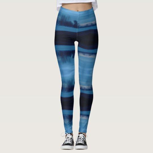 mystic blue leggings