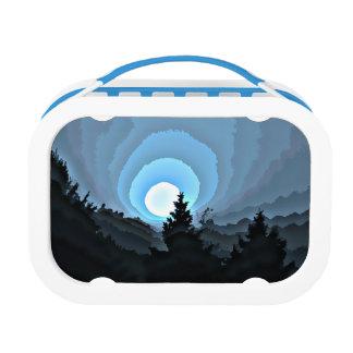 Mystic Blue Sunrise Lunch Boxes