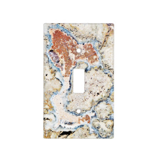 Mystic Colorful Concrete Abstract Light Switch Cover