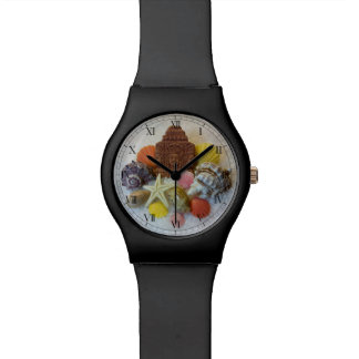 Mystic Energy Seashells and Starfish Watch