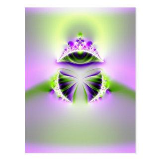 mystic eye postcard