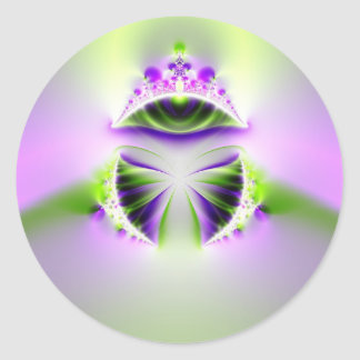 mystic eye round sticker