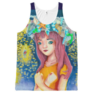 Mystic Firefly Beach All-over print tank top