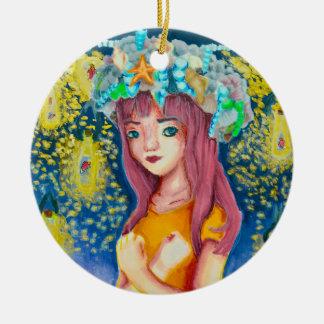 Mystic Firefly Beach Ornament