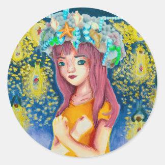 Mystic Firefly Beach Sticker