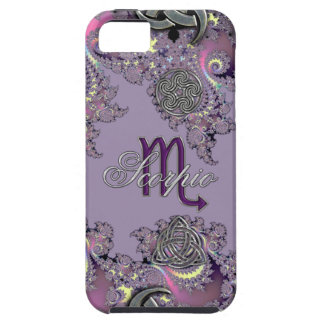 Mystic Fractal Zodiac Sign Scorpio iPhone 5 Case