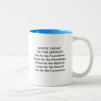 MYSTIC GROVE FIVE BRIDGES COFFEE MUG