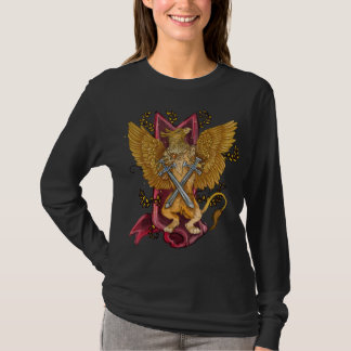 Mystic Gryphon with swords T-Shirt
