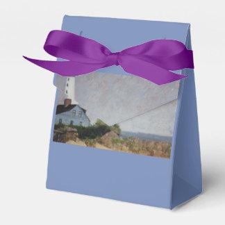 Mystic Harbor Lighthouse Favor Box
