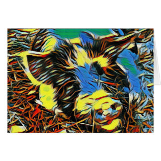 Mystic Hog Card