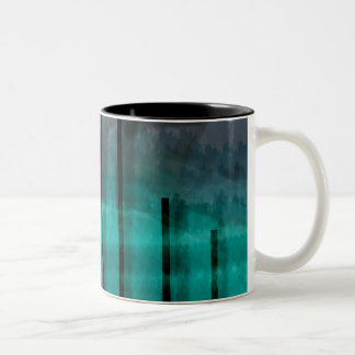 Mystic Jungle Two-Tone Coffee Mug