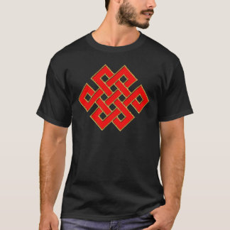 Mystic Knot - Red & Gold 1 T-Shirt