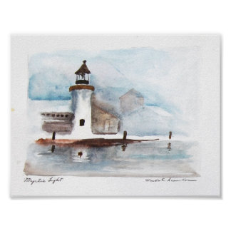mystic-lighthouse poster