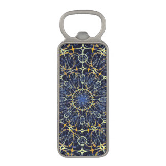 Mystic mandala magnetic bottle opener