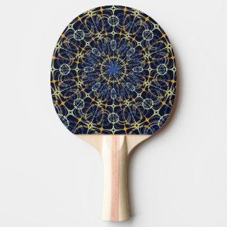 Mystic mandala Ping-Pong paddle
