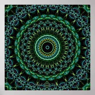 Mystic Mandala Poster