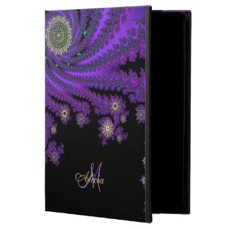Mystic Monogram Celtic Fractal iPad Case