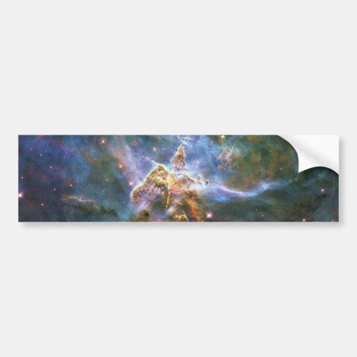 Mystic Mountain Carina Nebula HH 901 HH 902 Wide Bumper Stickers