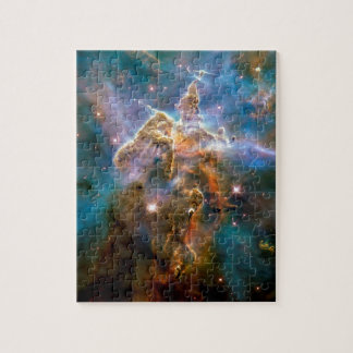 Mystic Mountain Carina Nebula Hubble Space Photo Jigsaw Puzzle
