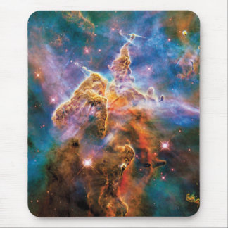 Mystic Mountain Carina Nebula Hubble Space Photo Mouse Pad