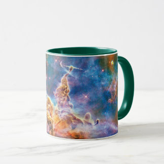 Mystic Mountain Carina Nebula Hubble Space Photo Mug