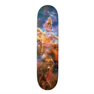 Mystic Mountain Carina Nebula Hubble Space Photo Skateboard Deck
