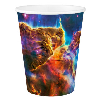 Mystic Mountain, Carina Nebula outer space photo Paper Cup