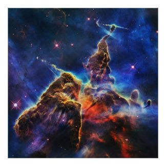 Mystic Mountain in Space NASA Photo Print