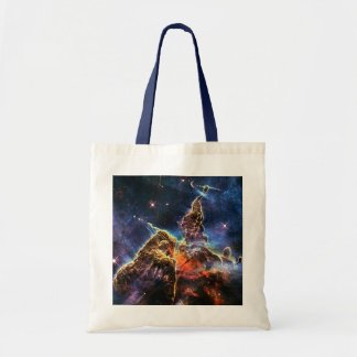 Mystic Mountain in Space NASA Tote Bag