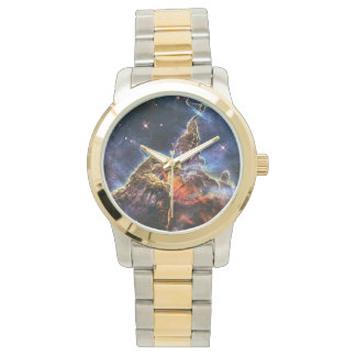 Mystic Mountain in Space NASA Wrist Watches