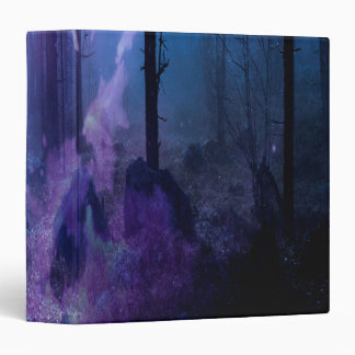 Mystic Night 3 Ring Binder
