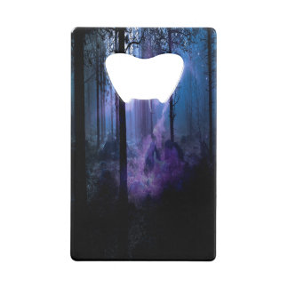 Mystic Night Credit Card Bottle Opener