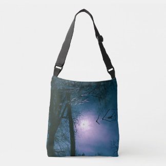 Mystic Refraction Custom All-Over-Print Cross Body Crossbody Bag