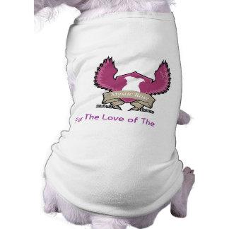 Mystic Rose Pit Bull Rescue Dog Tank Top Doggie Shirt